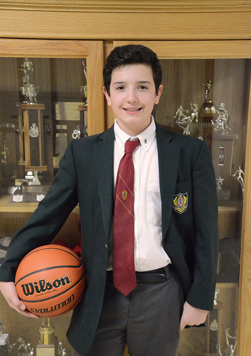 Nicholas B., U14 Boys Basketball