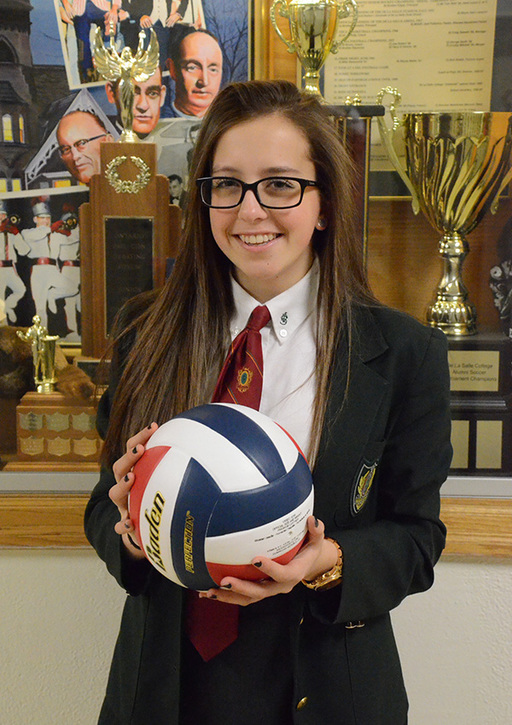 Marissa P., Jr. Girls Volleyball